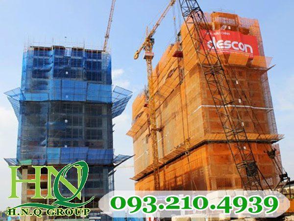 Lưới bao che công trình xây dựng 120g