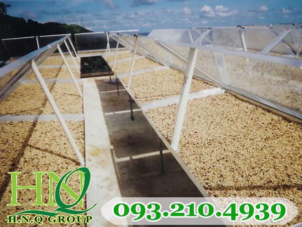 Lưới phơi nông sản phơi hạt điều