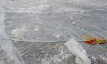Lưới mùng lót hồ nuôi thủy sản