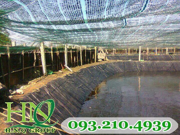 Lưới chống nắng cho hồ tôm
