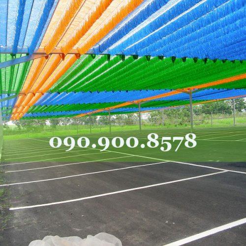 Lưới che nắng cho bãi đậu xe
