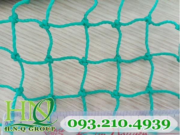 Lưới chắn sân tập golf màu xanh ngọc