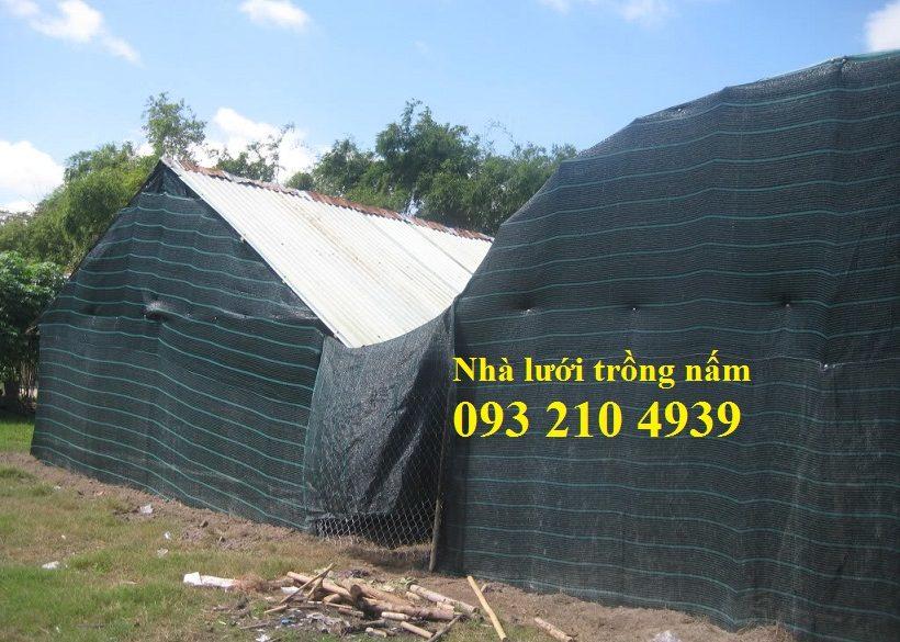 Lưới che nắng nhà trồng nấm