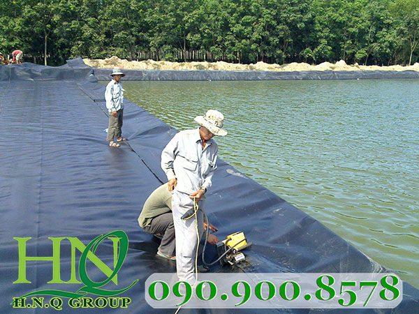 Các công dụng của bạt lót đáy hồ nuôi tôm