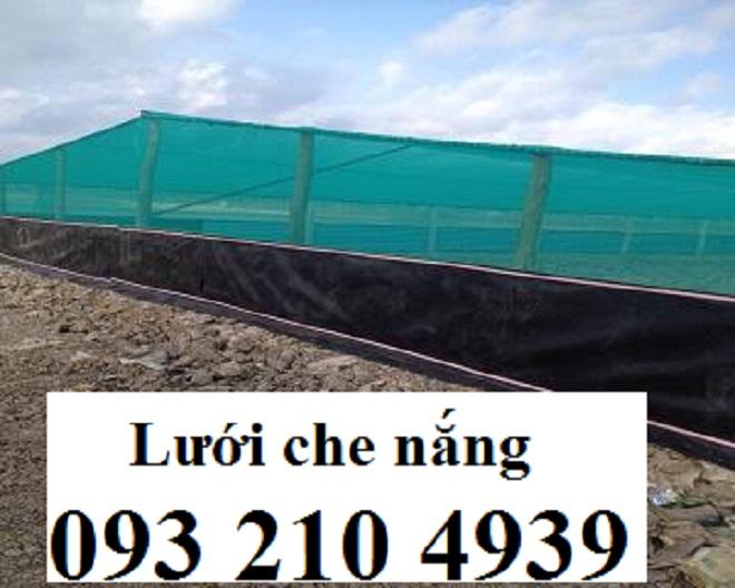 Nhà lưới nuôi thủy sản ở Trà Vinh