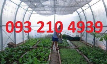 3 loại nhà lưới trồng rau công nghệ cao