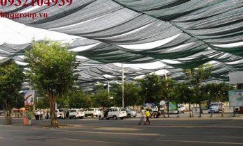 Lưới chống nắng Thái Lan đen, xanh lá, xanh dương, bạc...