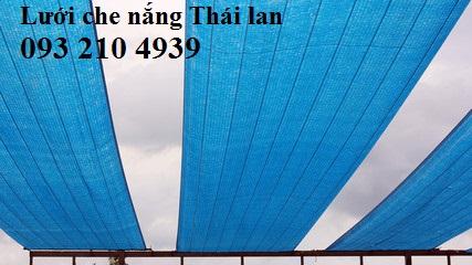 Lưới che nắng màu xanh dương