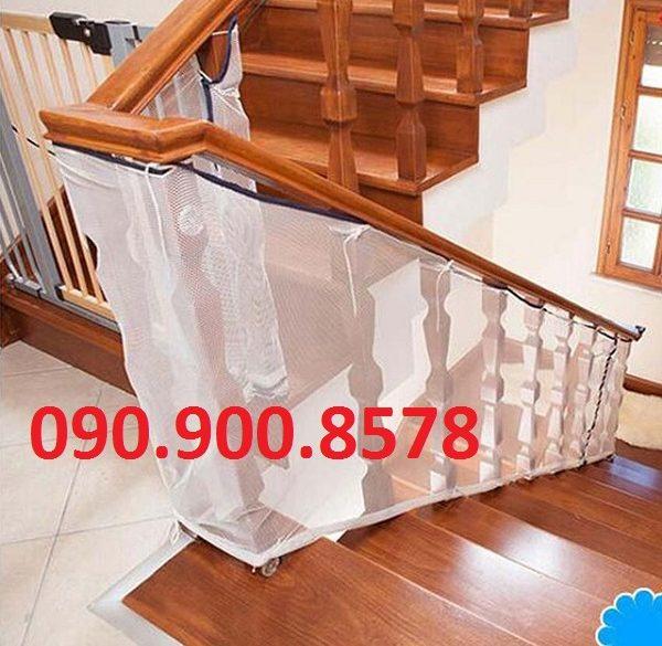 Lưới che cầu thang