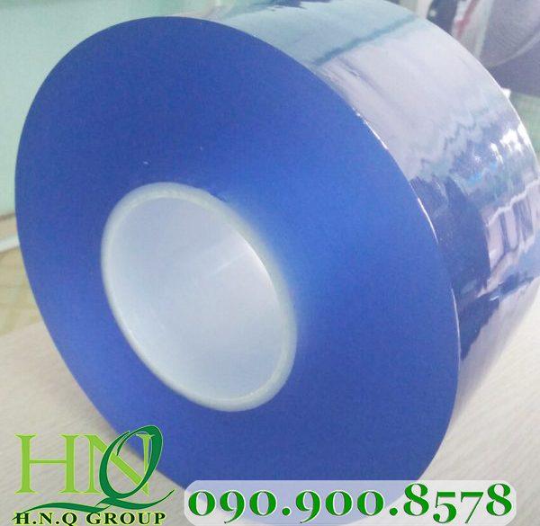 Màng nhựa PVC màu xanh dương