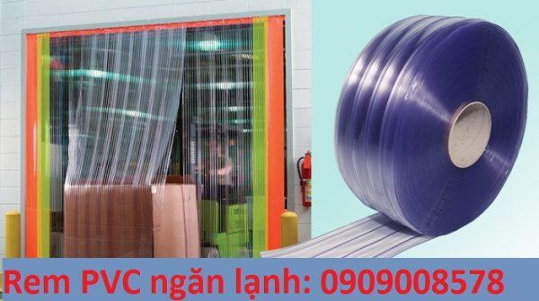 Rèm nhựa PVC ngăn lạnh âm sâu